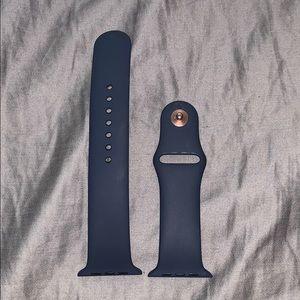 Navy Apple Watch Band 42mm M/L